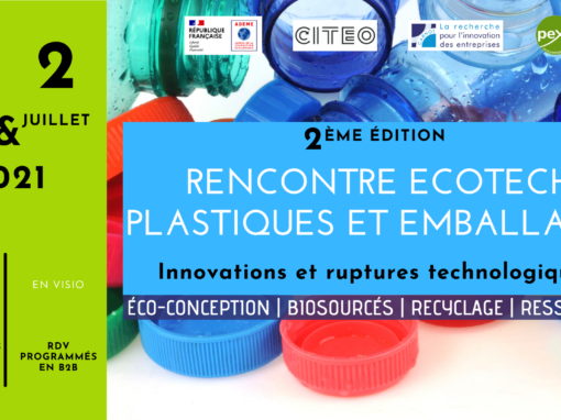 ♻️ 2ND METTING ECOTECH PLASTIQUES ET EMBALLAGES ♻️